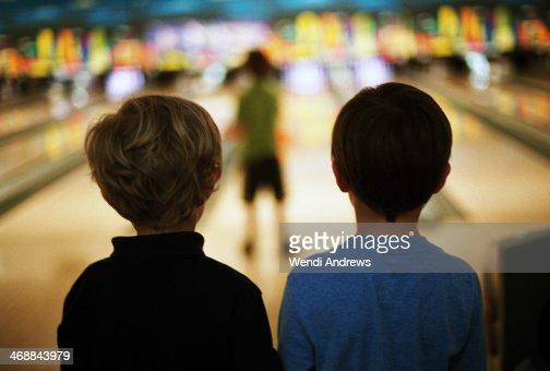 Best friends bowling