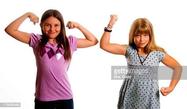 best friends - spieren spannen stockfoto's en -beelden