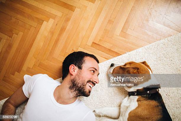 best friends - flooring stock photos and pictures