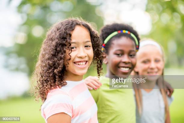 best friends - only girls stock pictures, royalty-free photos & images