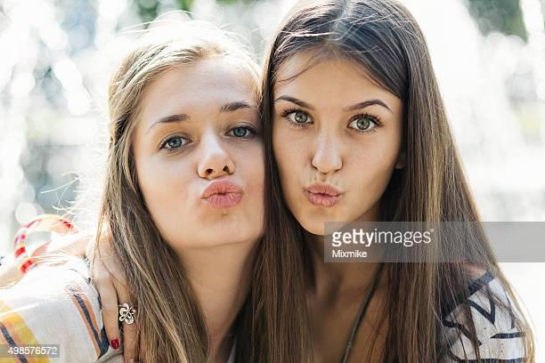 Melhores amigos uma selfie