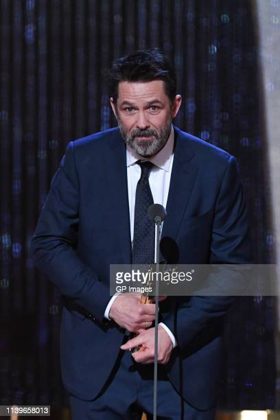Best Lead Actor winner for 'Cardinal Blackfly Season' Billy Campbell attends the 2019 Canadian Screen Awards Broadcast Gala held at Sony Centre for...