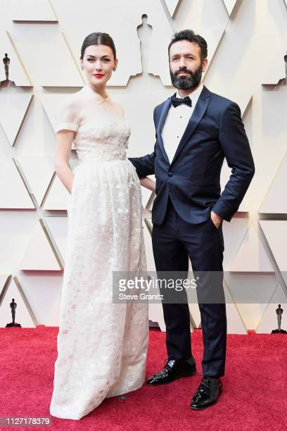 Best Live Action Short Film nominee for 'Mother' director Rodrigo Sorogoyen and Marta Nieto attend the 91st Annual Academy Awards at Hollywood and...