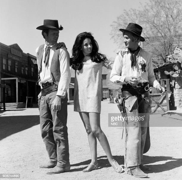 CHAPARRAL Best Man for the Job Episode 4 Pictured Unknown extras with Linda Cristal