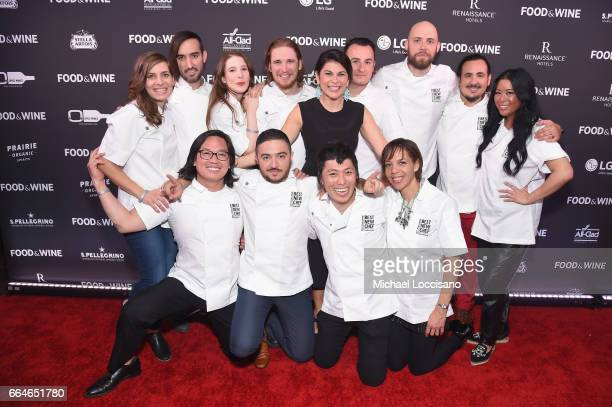 Best New Chefs Sara Kramer Jordan Kahn Sarah Hymanson Noah Sandoval Food Wine's Nilou Motamed Val Cantu Jay Blackinton Rico Torres Angie Mar Peter...