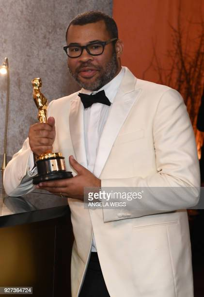 Best Original Screenplay laureate for 'Get Out' director Jordan Peele attends the 90th Annual Academy Awards Governors Ball at the Hollywood Highland...