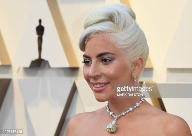 Best Original Song nominee for Shallow from A Star is Born Lady Gaga arrives for the 91st Annual Academy Awards at the Dolby Theatre in Hollywood...