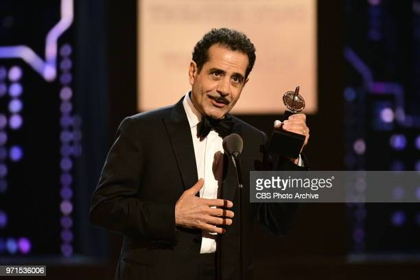 Best Performance by an Actor in a Leading Role in a Musical goes to Tony Shalhoub for The Band's Visit at THE 72nd ANNUAL TONY AWARDS broadcast live...