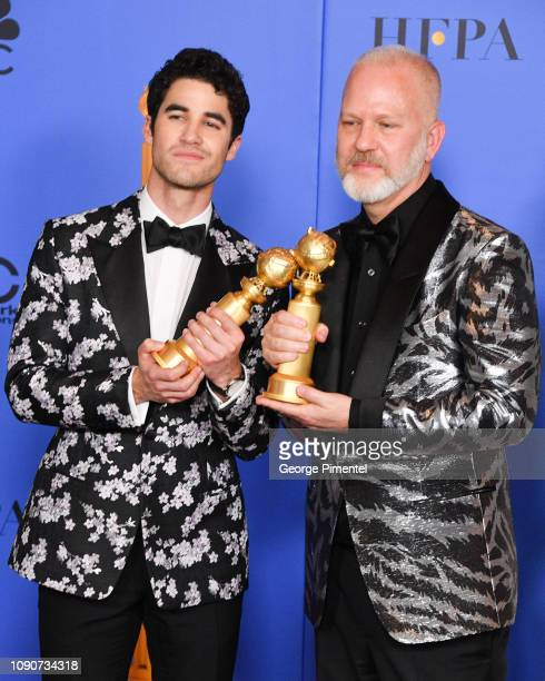 Best Performance by an Actor in a Limited Series or Motion Picture Made for Television for 'The Assassination of Gianni Versace' winner Darren Criss...