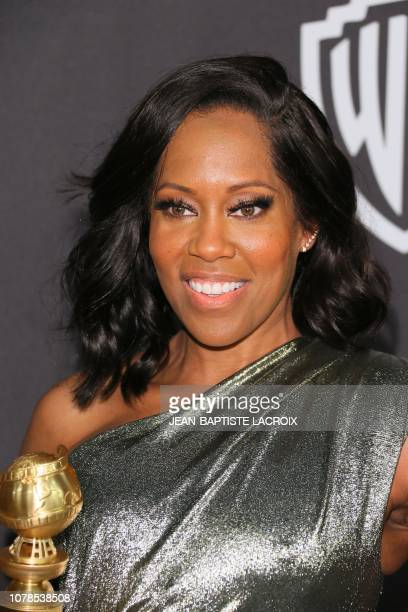 Best Performance by an Actress in a Limited Series or Motion Picture Made for Television for Seven Seconds winner Regina King arrives for the Warner...