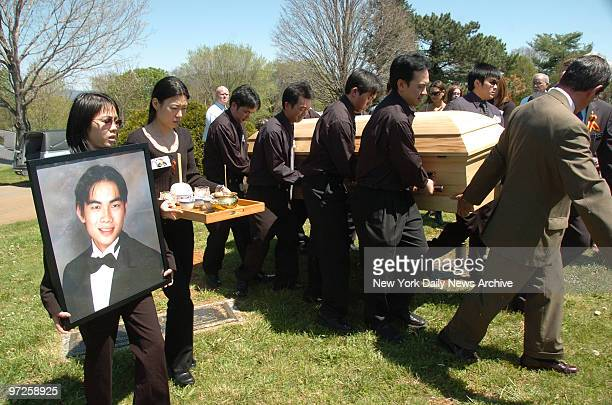 Best Photo's for 2007 Virgina Tech Campus Shooting Exclive photos of Funeral for Henry Lee who was killed during Virginia Tch mass killing as the...