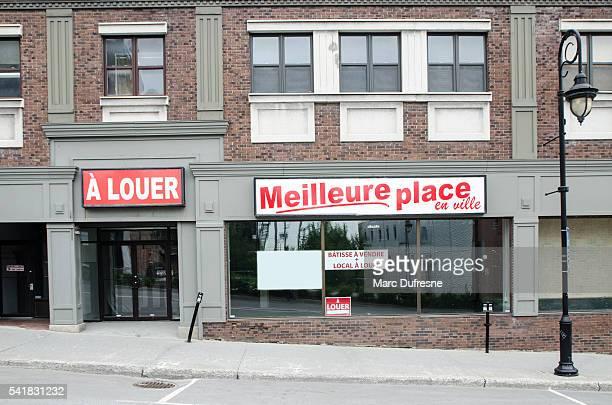 Meilleur endroit pour louer un espace commerçant de la ville.