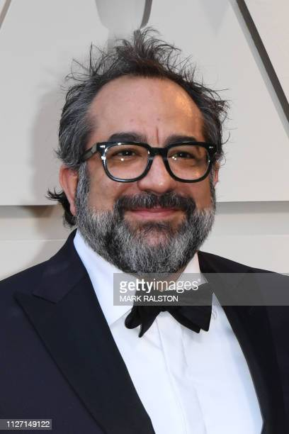 Best Production Design nominee for Roma Eugenio Caballero arrives for the 91st Annual Academy Awards at the Dolby Theatre in Hollywood California on...