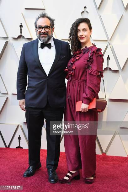 Best Production Design nominee for 'Roma' Eugenio Caballero attends the 91st Annual Academy Awards at Hollywood and Highland on February 24, 2019 in...