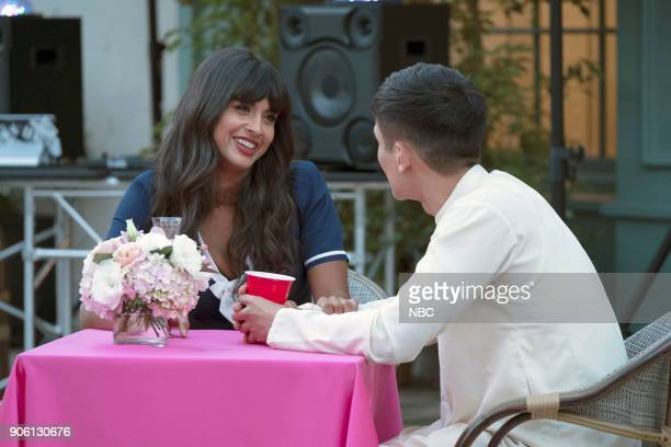 PLACE 'Best Self' Episode 210 Pictured Jameela Jamil as Tehani Manny Jacinto as Jianyu
