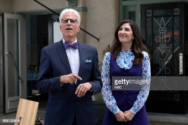 PLACE 'Best Self' Episode 210 Pictured Ted Danson as Michael D'Arcy Carden as Janet