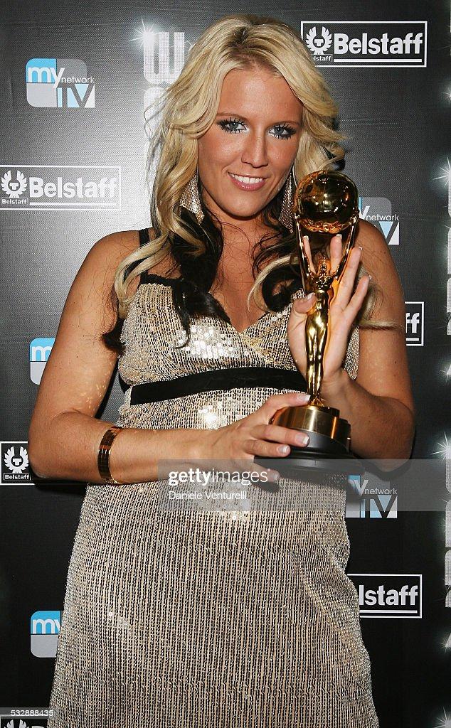 Best selling German artists Cascada with lead singer Natalie Horler