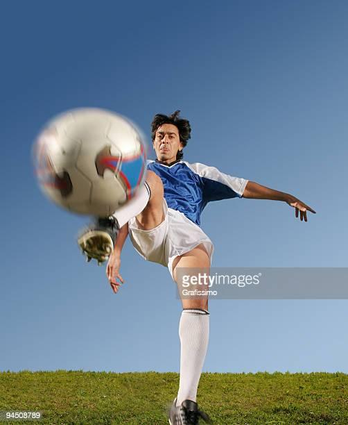 のサッカー選手フロント 1