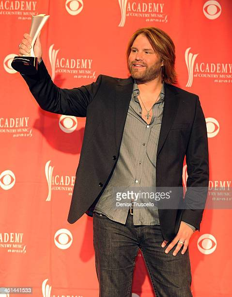 Best Song of the Year winner James Otto poses in the press room during the 44th annual Academy Of Country Music Awards held at the MGM Grand on April...