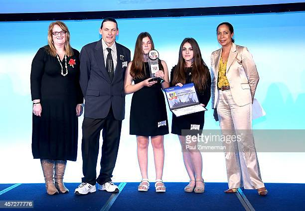 Best Storytelling Award Winners New Zealnd Consul General of New Zealnd Peta Conn students from Mount Aspiring College Mila Sumar Daisy ThorPoet and...