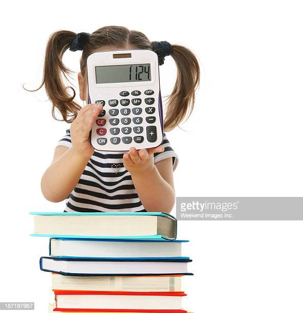 best student - fun calculator stock photos and pictures
