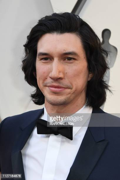 Best Supporting Actor nominee for BlackKklansman Adam Driver arrives for the 91st Annual Academy Awards at the Dolby Theatre in Hollywood California...