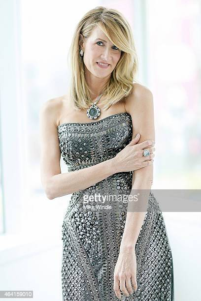 Best Supporting Actress nominee Laura Dern prepares for the Oscars wearing a Bulgari turquoise ring in support of the American Lung Association's...