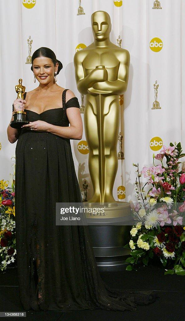 The 75th Annual Academy Awards - Press Room : News Photo