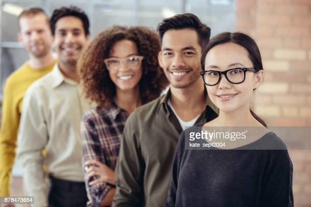 best team at work - diversity stock pictures, royalty-free photos & images