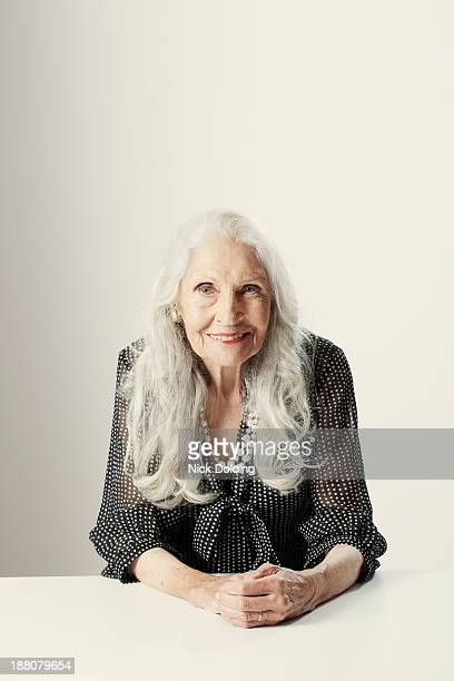 best vintage 46 - white hair stock pictures, royalty-free photos & images