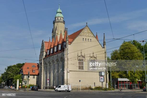 Sabel-Oberschule, Lindenstrasse, Koepenick, Berlin, Deutschland / Köpenick