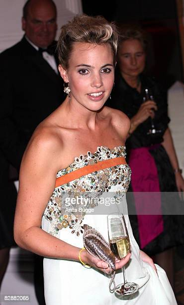 Bestseller author Sophie van der Stap attends the Dreamball2008 charity gala in the Martin-Gropius Building on September 18, 2008 in Berlin, Germany.
