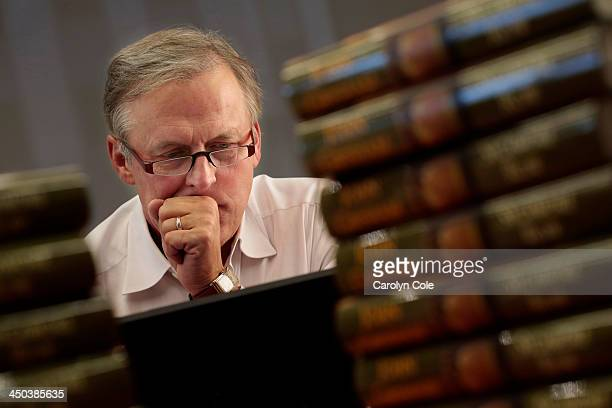 Bestselling author John Grisham is photographed for Los Angeles Times on October 22 2013 in New York City PUBLISHED IMAGE CREDIT MUST BE Carolyn...