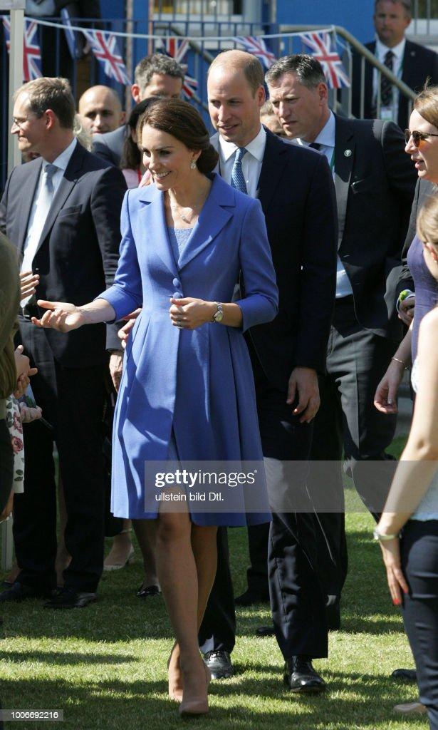Britische Botschaft : News Photo