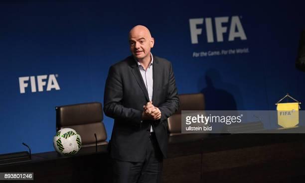 IES besucht das Home of FIFA Praesident Gianni Infantino