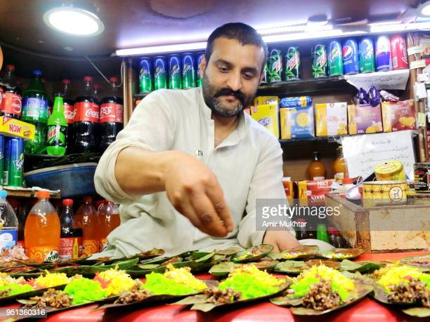 Betel leaf (Paan) seller