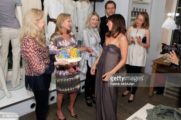 Beth Amorosi Karen Klopp Janna Bullock and Kick Kennedy attend KICK KENNEDY And WHAT TO WEAR WHERE Kick Off PROJECT GREEN CHIC at Calypso St Barth on...