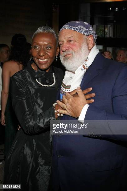 Beth Ann Hardison and Bruce Weber attend Celebrating Fashion Gala Awards Dinner to Support The GORDON PARKS Foundation at Gotham Hall on June 2 2009...