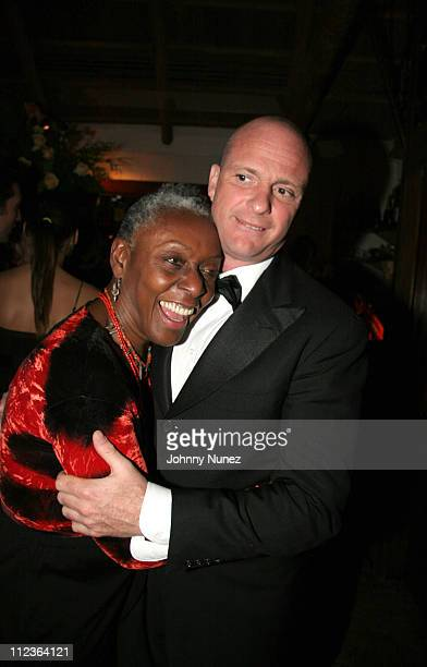 Beth Ann Hardison and Giuseppe Cipriani host during Naomi Campbell and Giuseppe Cipriani Holiday Party December 5 2005 in New York New York United...