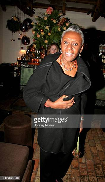 Beth Ann Hardison during Naomi Campbell and Giuseppe Cipriani Holiday Party December 5 2005 at Cipriani in New York New York United States