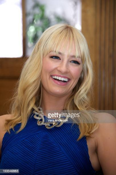 Beth Behrs at the '2 Broke Girls' Press Conference on October 3 2012 in West Hollywood California