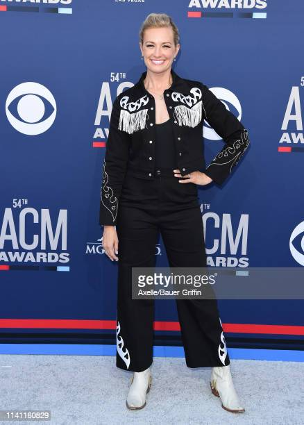 Beth Behrs attends the 54th Academy of Country Music Awards at MGM Grand Garden Arena on April 07 2019 in Las Vegas Nevada