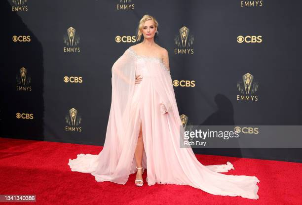 Beth Behrs attends the 73rd Primetime Emmy Awards at L.A. LIVE on September 19, 2021 in Los Angeles, California.