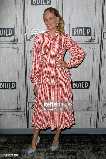 Beth Behrs attends the Build Series to discuss 'The Neighborhood' at Build Studio on April 17 2019 in New York City