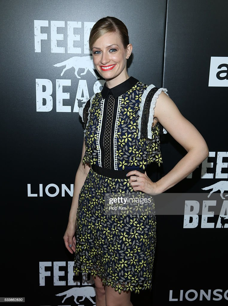 Beth Behrs attends the New York Screening of 'Feed The Beast' at Angelika Film Center on May 23, 2016 in New York City.