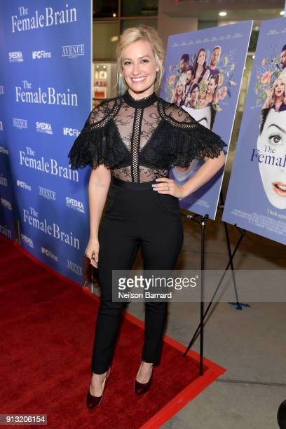 Beth Behrs attends the premiere of IFC Films' 'The Female Brain' at ArcLight Hollywood on February 1 2018 in Hollywood California