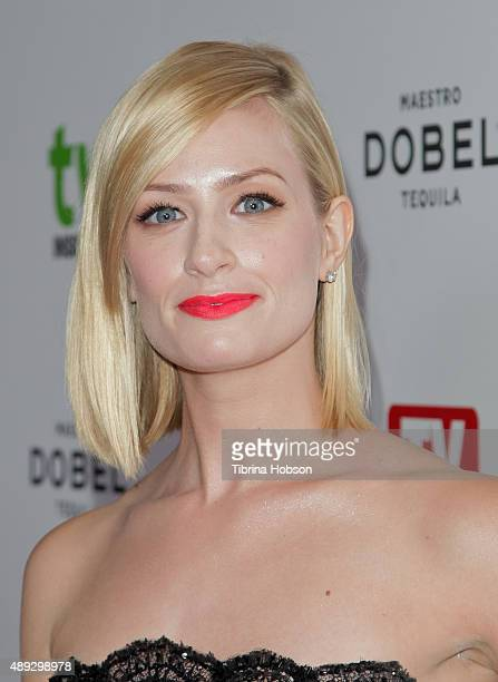 Beth Behrs attends the Television Industry Advocacy Awards at Sunset Tower on September 18 2015 in West Hollywood California
