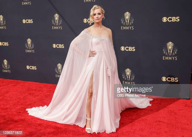 Beth Behrs from The Neighborhood attends the 73RD EMMY AWARDS on Sunday, Sept. 19 on the CBS Television Network and available to stream live and on...