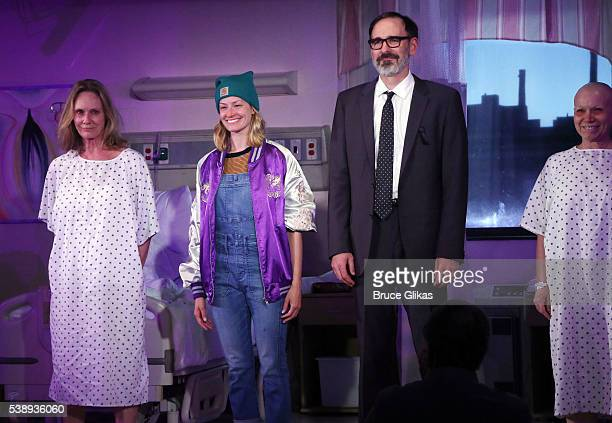 "Beth Behrs takes her curtain call at The Opening Night of MCC Theater's ""A Funny Thing Happened on the Way to the Gynecologic Oncology Unit at..."