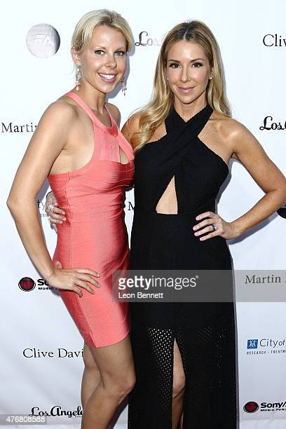 Beth Bowen and singer Stefanie Ridel arrives at the City Of Hope's 11th Annual Songs Of Hope VIP Charity Event Arrivals at House of Fair on June 11...